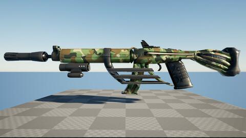 Scifi Weapon ww1A