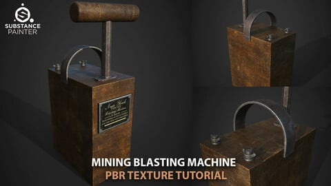 Blasting machine texturing tutorial+asset