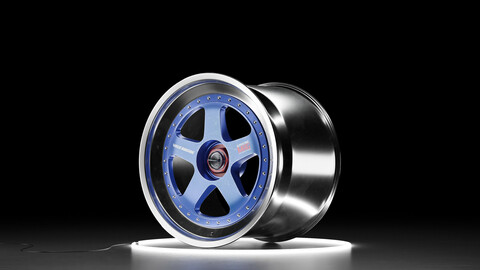 RAYS VOLK RACING JGTC Car wheel 3D model