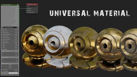 Universal Material Generator Pro for Blender 3D