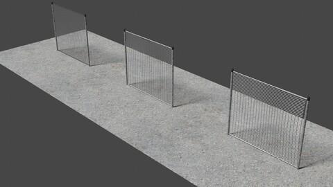Fence 8 - 3D-Model