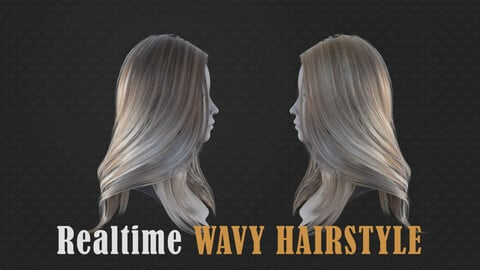 Real-time wavy hairstyle