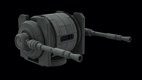 Star Wars style turret