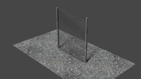 Fance 9 - 3D-Model