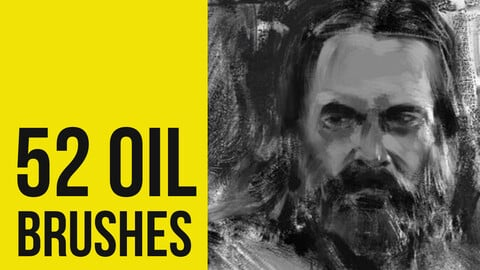 Oil Brushes for Photoshop II