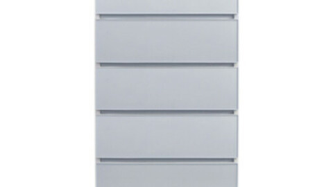 Color Story wide chest of drawers
