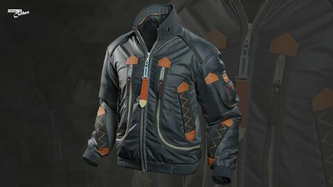 The Jacket 05 - 74 Marvelous Designer and Clo3D