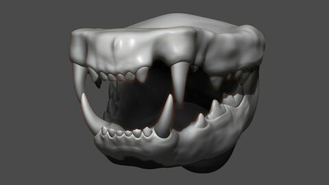 Cat Mouth ZBrush Sculpt