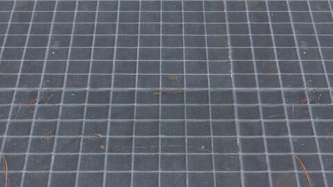 Metal Grid 1 PBR Material