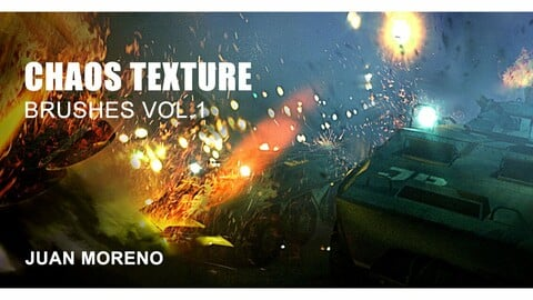 CHAOS TEXTURE BRUSHES FOR PHOTOSHOP