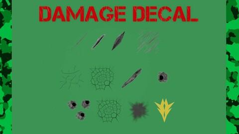 Memento Aurora Damage decals