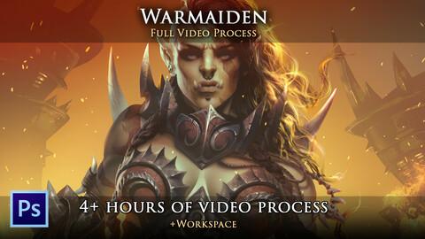 """Warmaiden"" - Full Video Process"