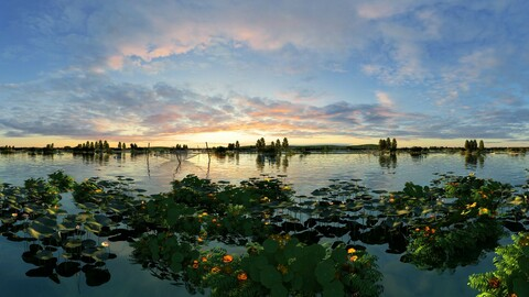 Lake farming - Hehuatan