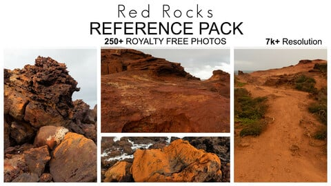 Reference Pack - Red Rocks - 250+ Royalty Free Photos
