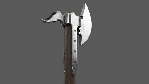 Axe Weapon PBR 3D