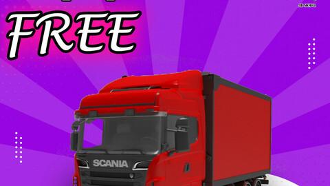 truck scania 3d