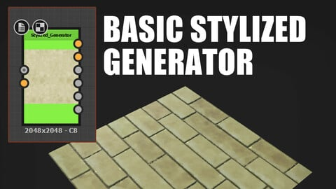 Basic Stylized Generator (SD .sbsar)
