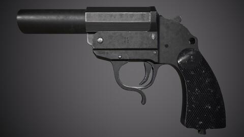 LP34 Flare gun Leuchtpistole 34