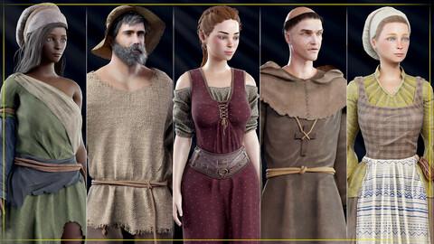 Medieval NPC pack