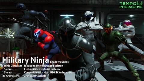 Shadows Series - Unreal Engine 4