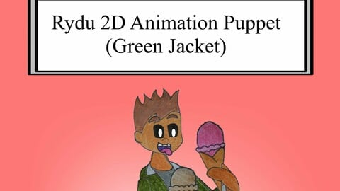 Rydu 2D Animation Puppet