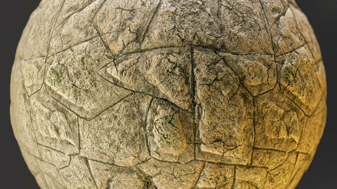 PBR - FLAGSTONE FLOOR HOME SCAN, STONE - 4K MATERIAL