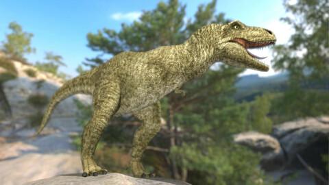 Free 3D series, Dinosaur (Blender3D scene).