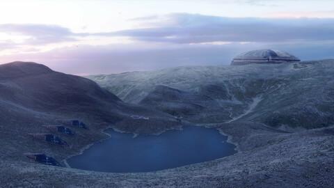10 Background kitbash landscapes for your main scene Vol.1