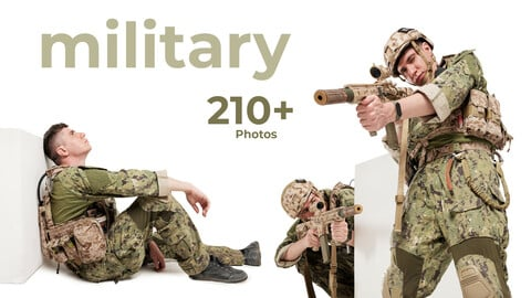 Military Poses - References For Artists