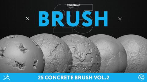 25 Concrete Brush Vol.2