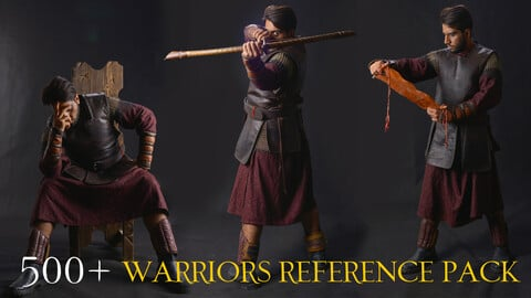 500+ Warriors Reference Pack