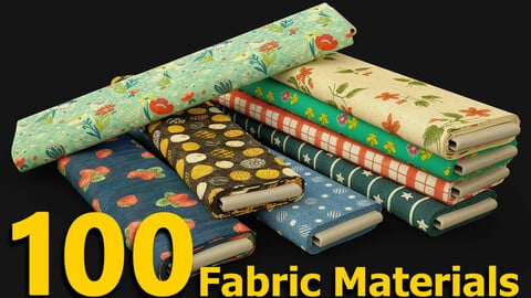 100 Fabric Materials - SBSAR