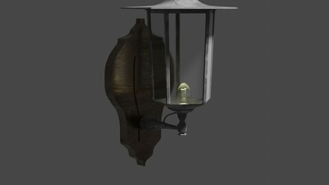 Walllamp 1 - 3D-Model