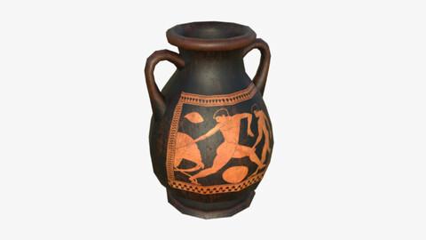 Pelike Greek Vase