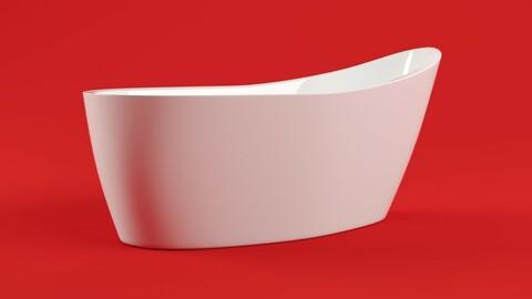 Aquatica Emmanuelle - Freestanding Bathtub 3D model