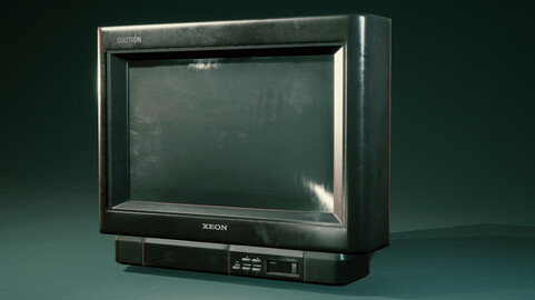 Game-ready VHS TV