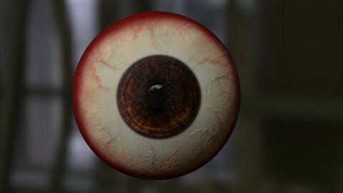 realistic real time eye (free download)