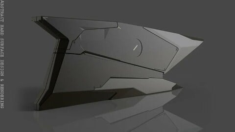 Abstract hard surface design and rendering