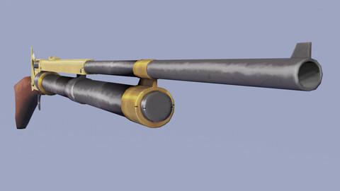 Steampunk Weapon Musket