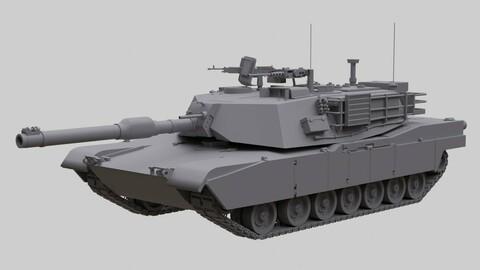 M1A1 Abrams US Army Tank