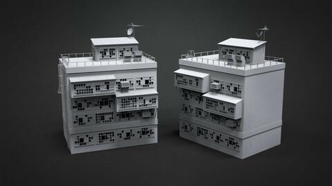 SLUM BUILDINGS