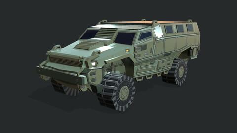 MRAP Armored Vehicle