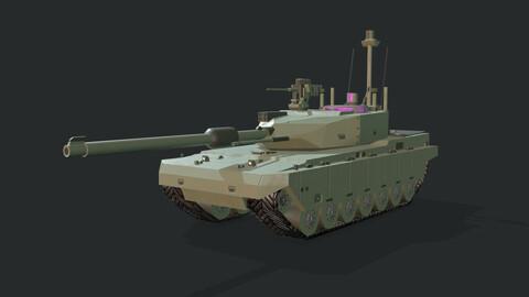 Modern MBT Tank