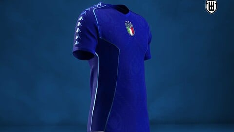 Soccer Jersey Mold for Marvelous and Clo3d