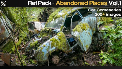 Ref Pack - Abandoned Places Vol.1