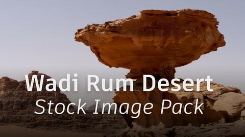 Wadi Rum Desert - Stock Image Pack