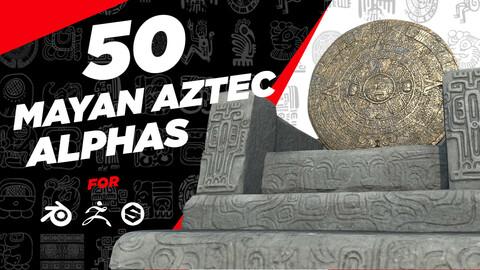 Mayan Aztec Alphas V1
