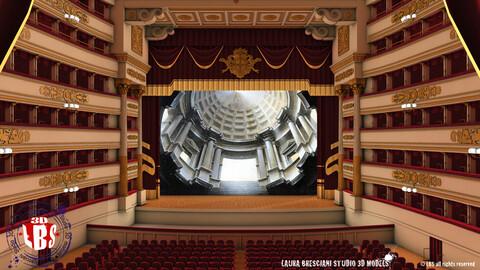 Opera Theatre - Scala Theatre - Milan - Interior
