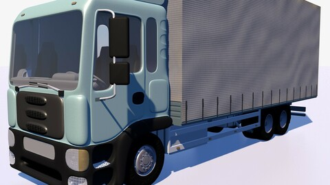 Awning cargo truck