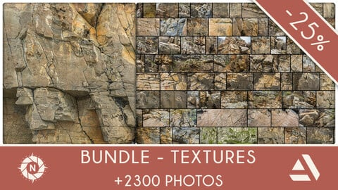 Bundle: Texture Reference Packs - Complete collection +2300 photos